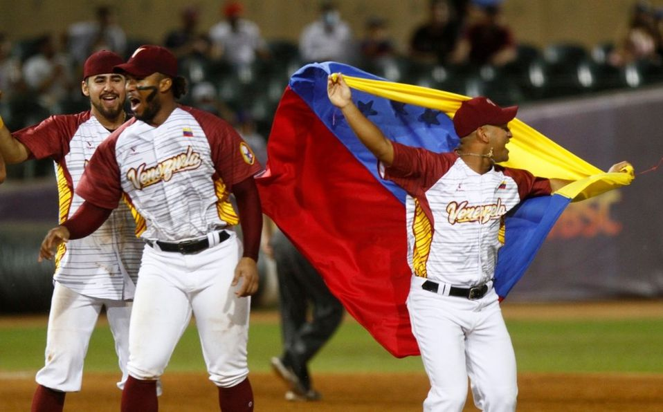 Venezuela vence a México y gana el Mundial de Béisbol Sub-23