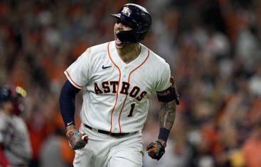 Altuve y Correa dan triunfo a Astros al iniciar serie de campeonato ante Astros
