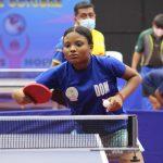 Dafne Sosa participa en campamento hopes de Tenis de Mesa