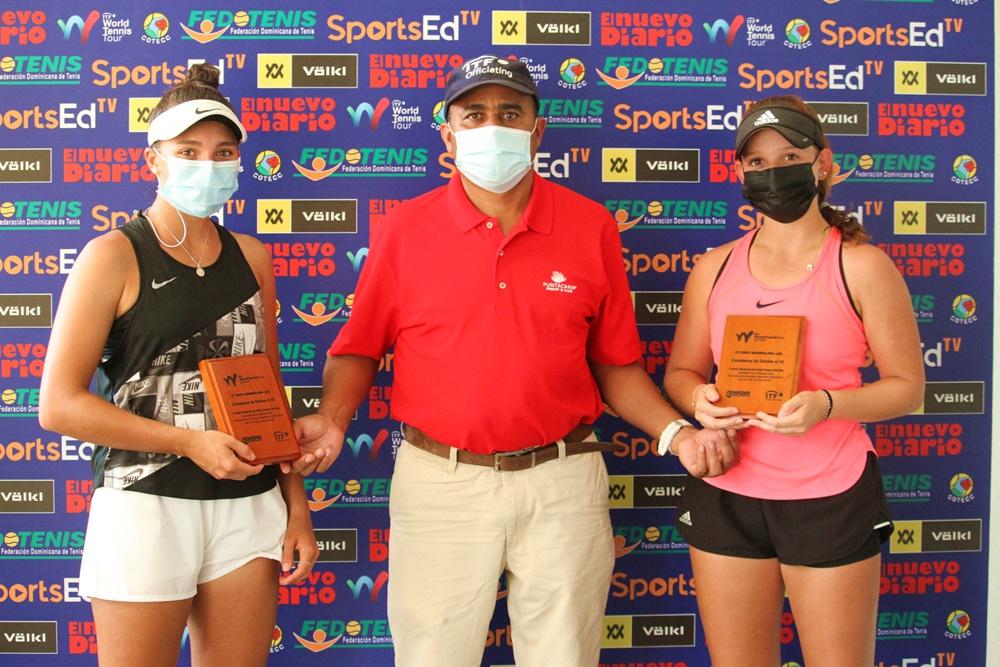 Vela/Morales y Armistead/Shokry, campeones de dobles Copa Mangulina