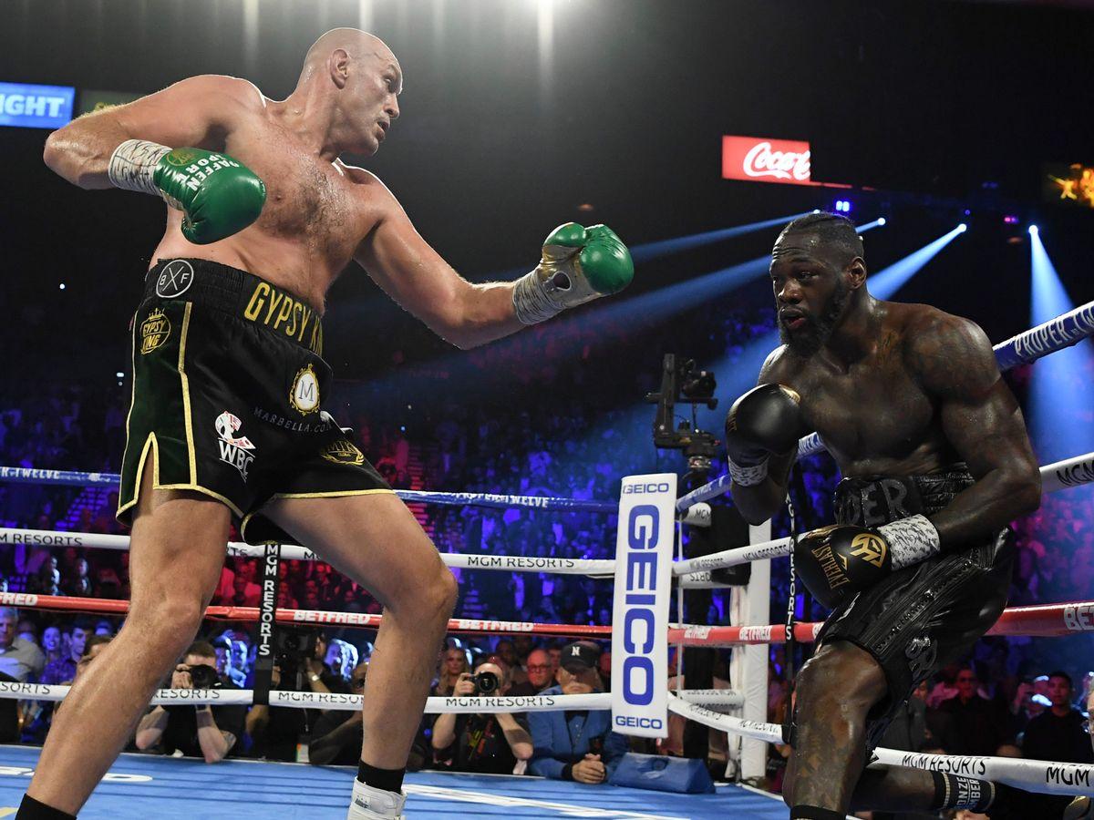 Tyson Fury acaba a Deontay Wilder con brutal nocaut en 11 rounds