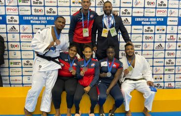 Selección judo gana cinco medallas en Málaga European Open