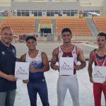 Gimnastas Contreras, Alba y Mateo ganan competencia federativa