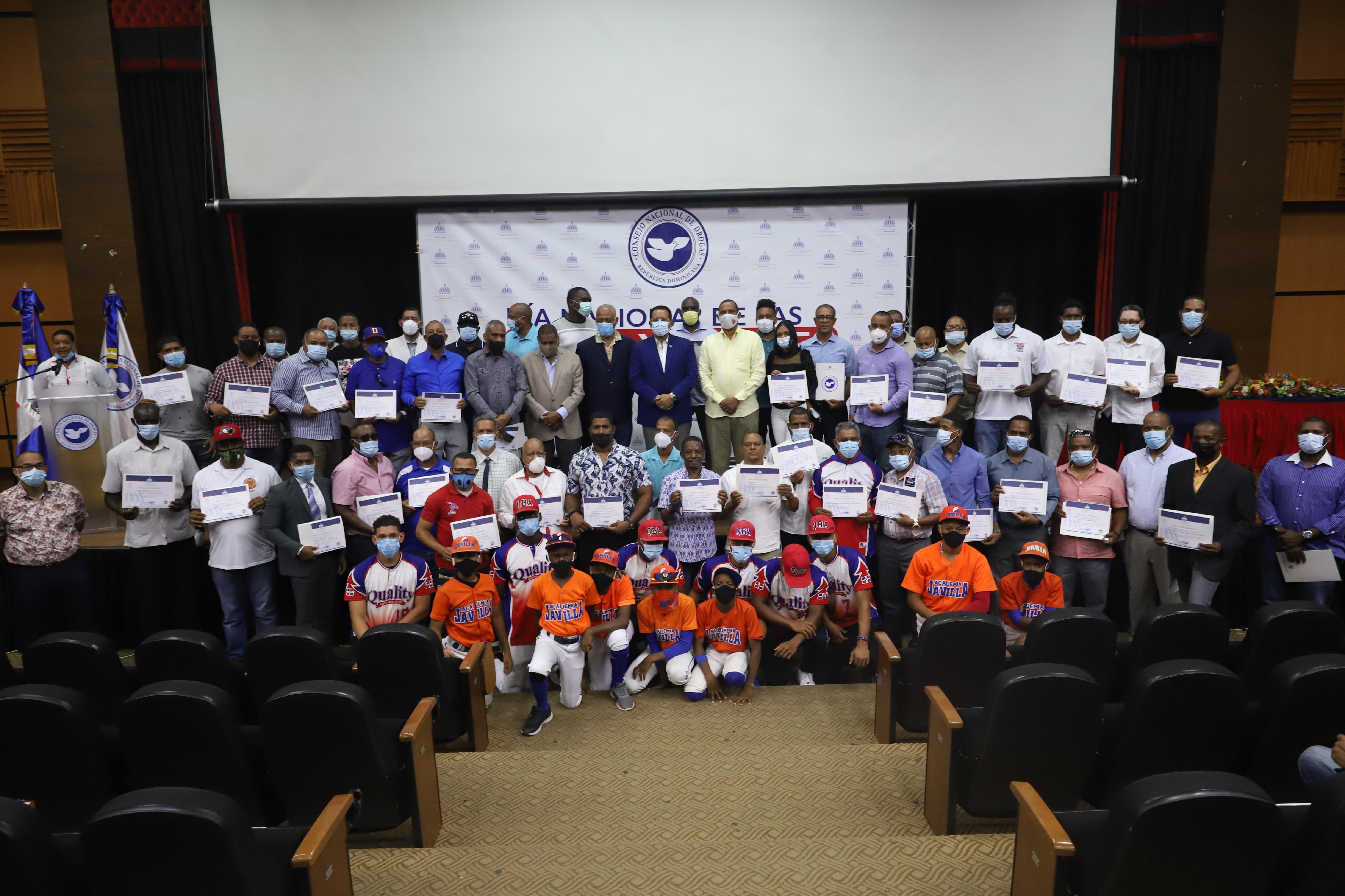 CND reconoce labor de clubes y ligas deportivas del país en sano desarrollo de la juventud