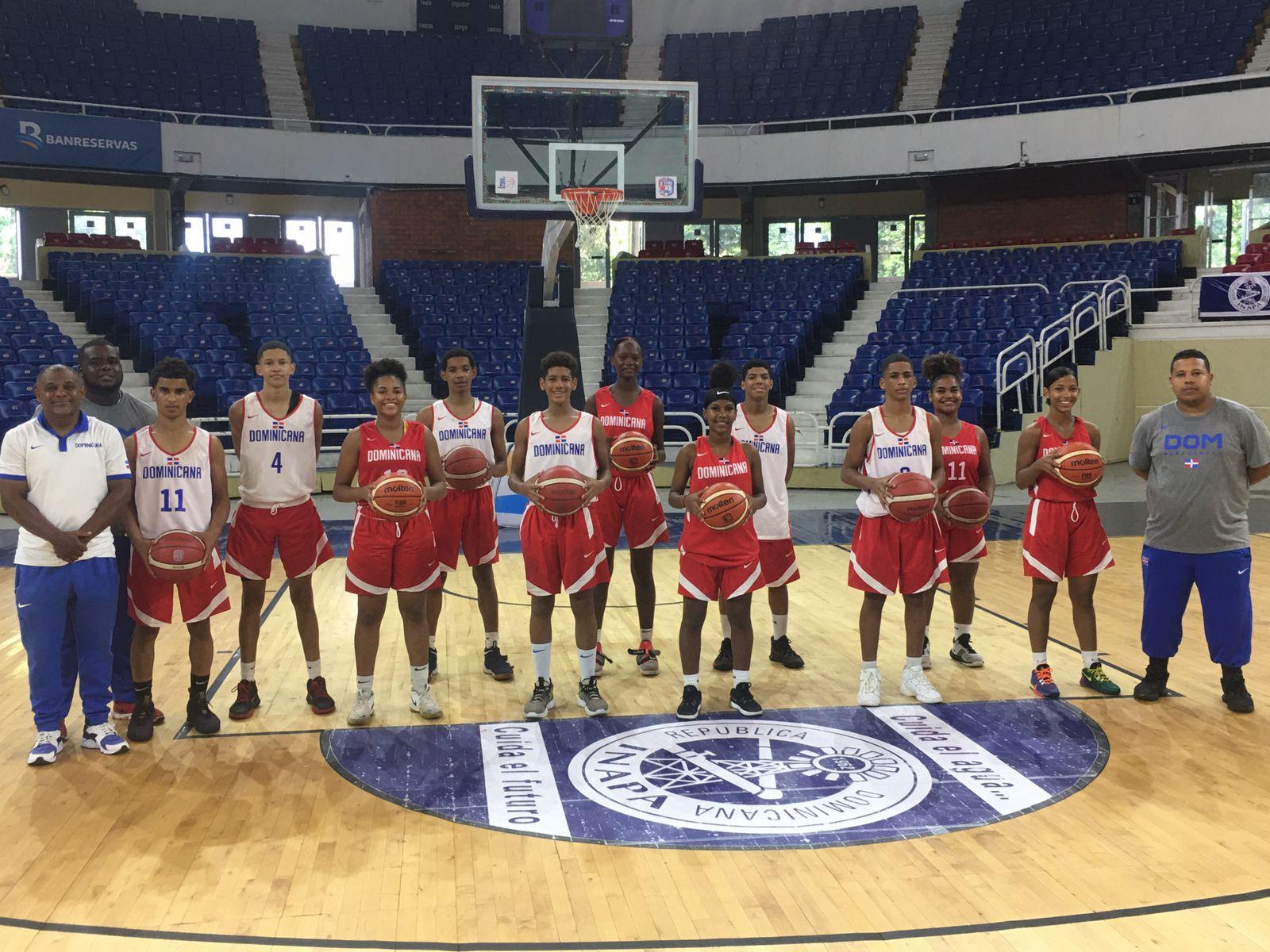 Baloncesto RD competirá en Torneo Global de Habilidades FIBA Sub-15