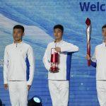 Llama olímpica de los Juegos de Invierno llega a Beijing