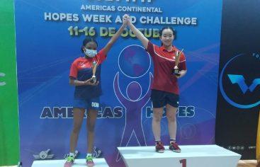 Dafne Sosa ocupa segundo lugar Américas Continental Hopes