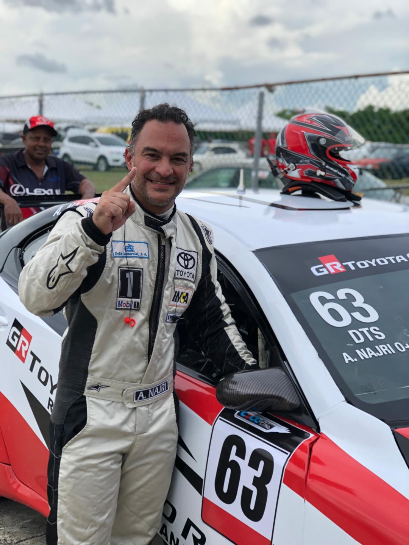 El piloto Alfredo Najri saldrá primero en Gran Premio Motored