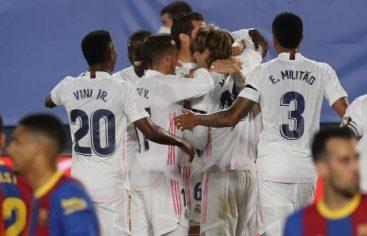 El Real Madrid se lleva el Clásico ante el Barcelona