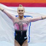 Melnikova, primera campeona mundial rusa de gimnasia desde 2010