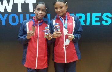 Sosa y Estrella, bronce en Panam infantil U-13 tenis de mesa Ecuador