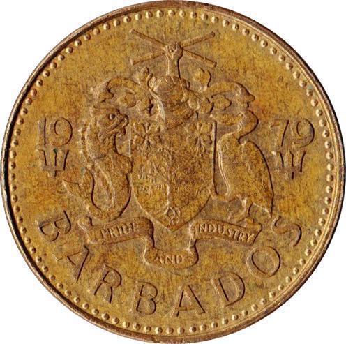 Collectgram | 5 Cents - Elizabeth II - Barbados