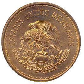 Coin 20 Centavos (Type 1 National Emblem) Mexico obverse