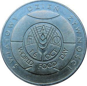 Coin 50 Złotych (FAO - World Food Day) Poland reverse
