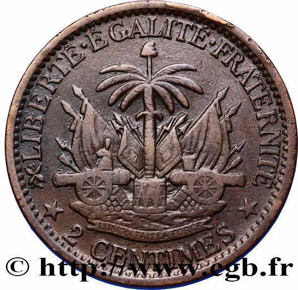 Coin 2 Centimes  reverse