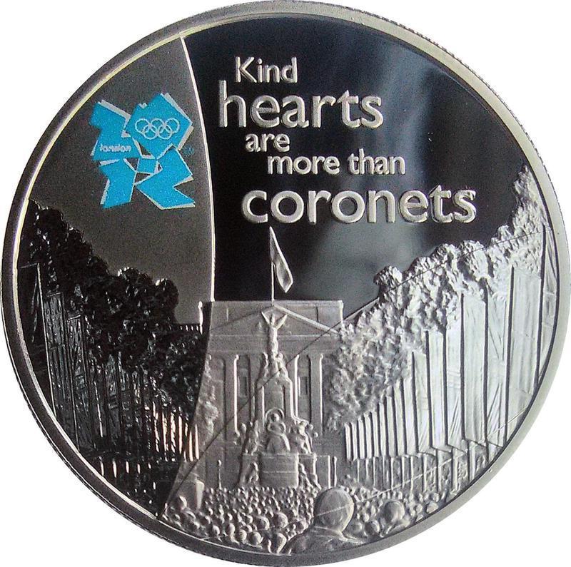 Collectgram   5 Pounds - Elizabeth II (The Mall