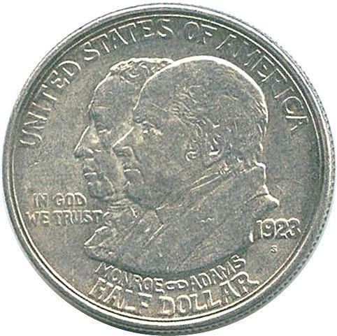 Coin ½ Dollar (Monroe Doctrine Centennial) United States of America obverse
