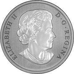 Collectgram | 25 Cents - Elizabeth II (Quetzalcoatus) - Canada