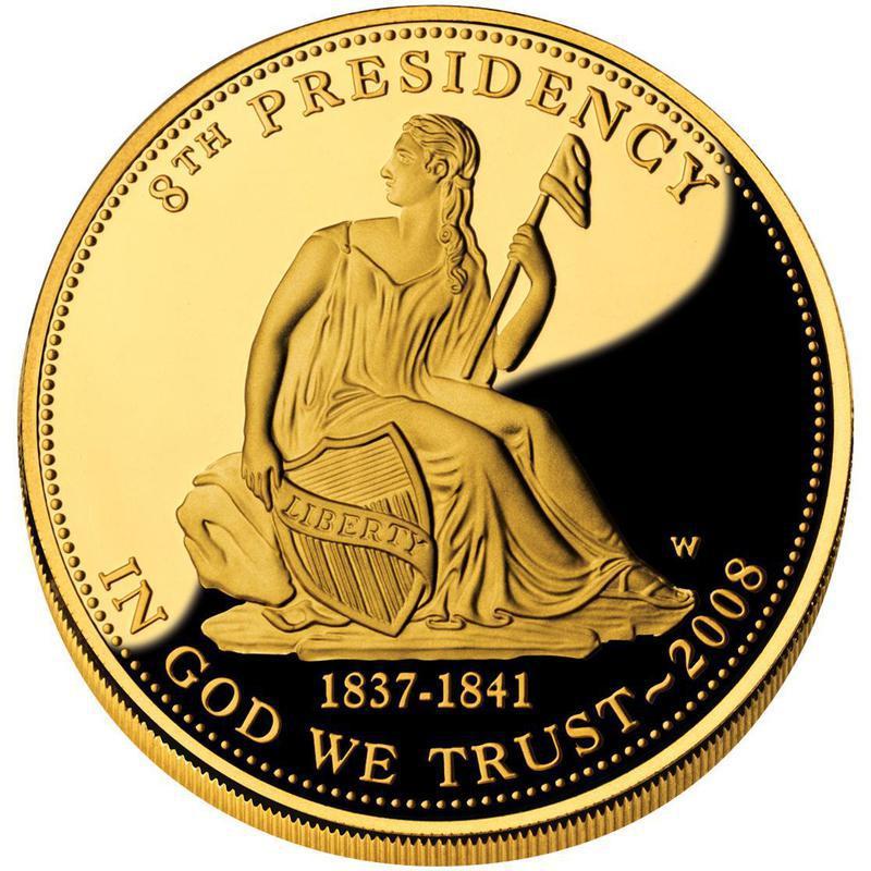 Coin 10 Dollars (Martin van Buren's Liberty; Bullion Coinage) United States of America obverse