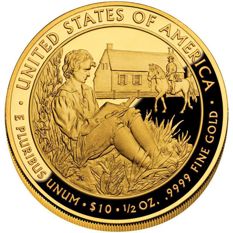 Coin 10 Dollars (Martin van Buren's Liberty; Bullion Coinage) United States of America reverse