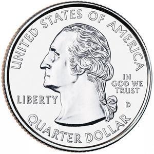 "Coin ¼ Dollar ""Washington Quarter"" (Vicksburg National Military Park, Mississippi)  obverse"