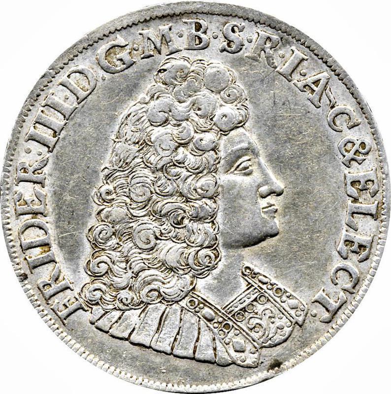 Collectgram | ⅔ Thaler - Friedrich III - Brandenburg-Prussia