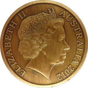 "Coin 5 Dollars - Elizabeth II (""Town Halls"" Brisbane City Hall) Australia obverse"