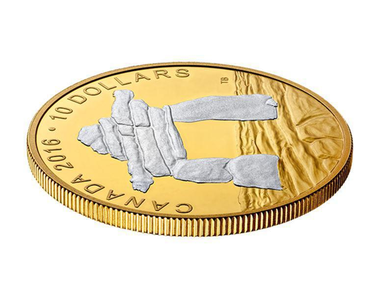 Collectgram | 10 Dollars - Elizabeth II (Inukshuk