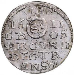 Coin 3 Garas - Gábor Báthori (1608-1613)  reverse