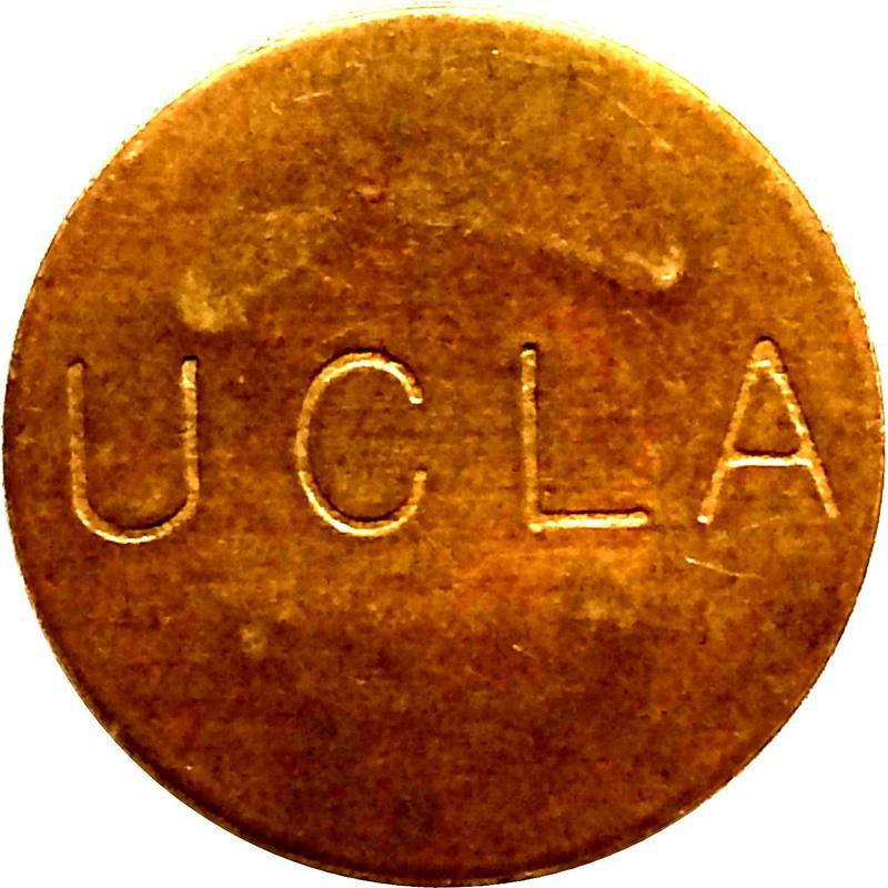 Collectgram | Los Angeles, California - UCLA - Parking Token