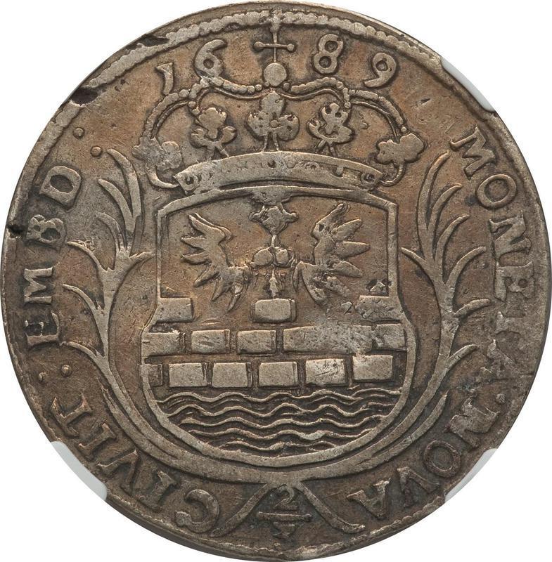 Coin ⅔ Thaler  obverse