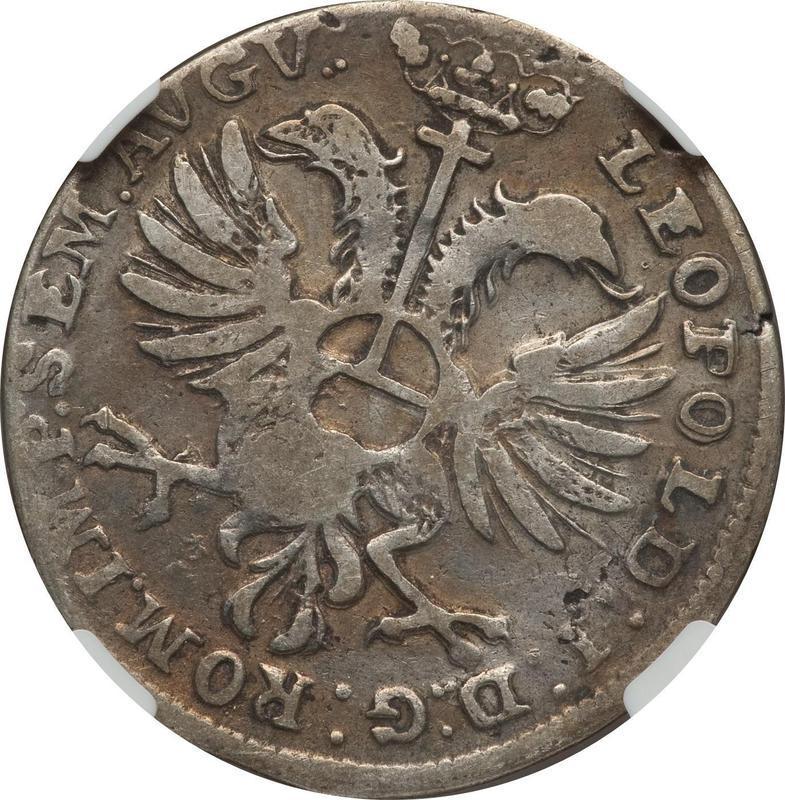 Coin ⅔ Thaler  reverse