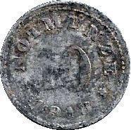 Coin 10 Pfennig (Schauenstein) [Private, Hessen-Nassau, H. Heye Glasfabrik]  reverse