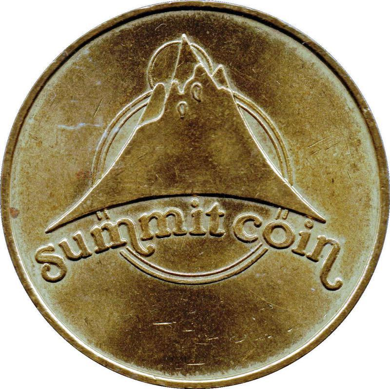 Collectgram | Summit Coin Token - 10 Pence - * Tokens *