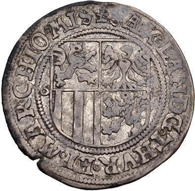 Coin 1 Schreckenberger - Johann Friedrich II. (Saalfeld)  reverse