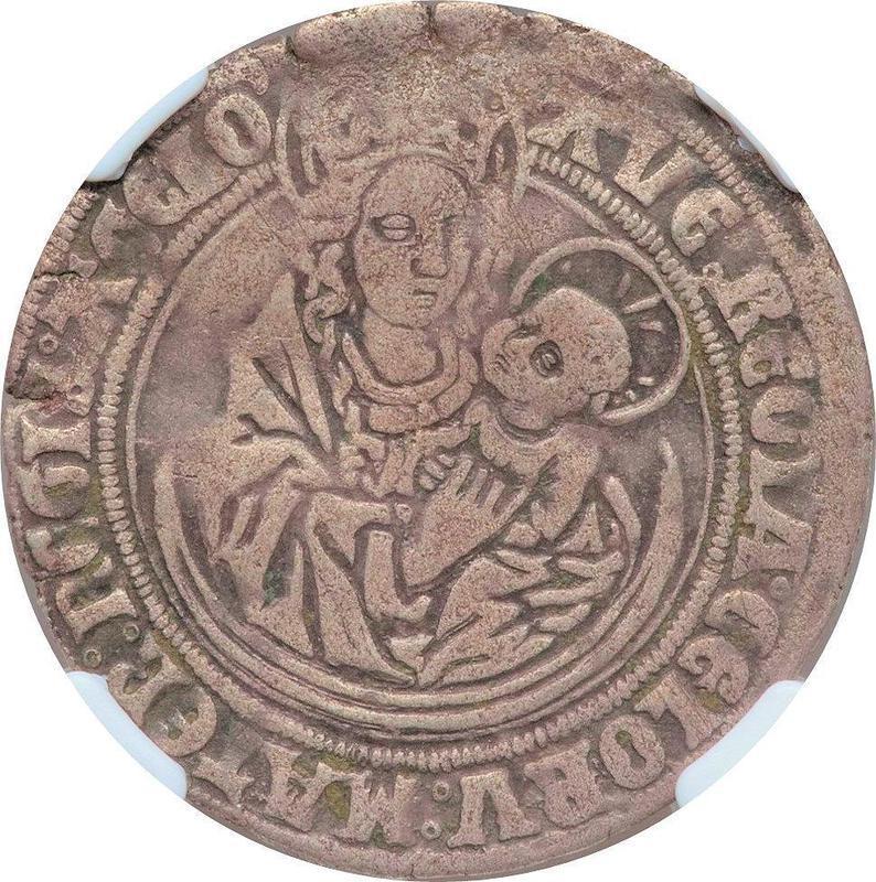 Coin 1 Mariengroschen  obverse