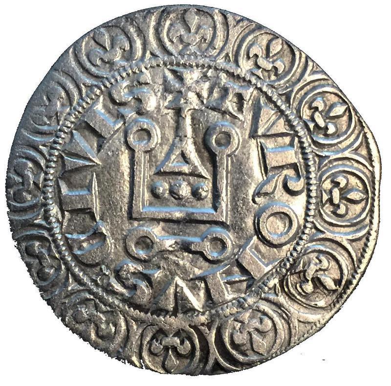 Coin Gros tournois - Philippe V  reverse