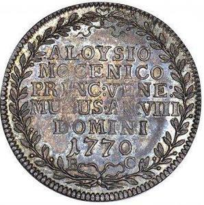 Coin 1 Osella - Alvise Mocenigo IV  reverse