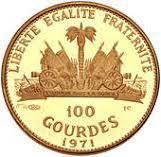 Coin 100 Gourdes (Stalking Turkey Cherokee) Haiti reverse