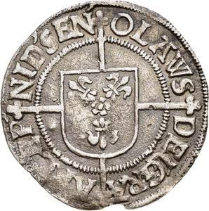 Coin 1 Skilling - Olav Engelbrektsson Norway reverse