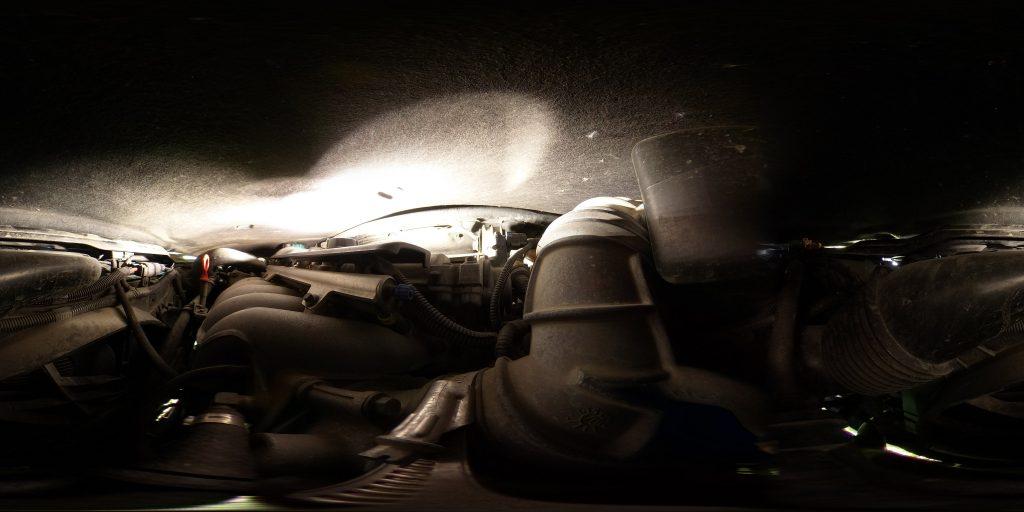 Mysterious Life | Car | Engine bay