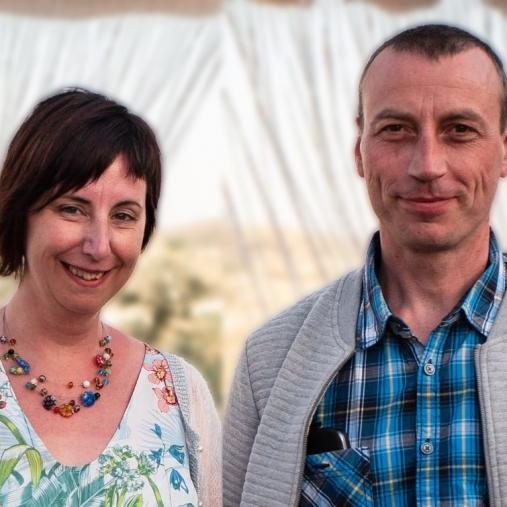 Foto Jan en Vicky Huyghe - Dewulf