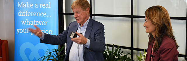 Lunch with Kerry O'Brien and the Walkley Foundation