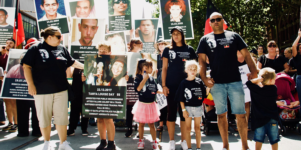 Supporting the fight to stop black deaths in custody
