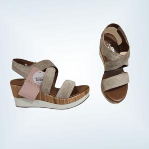 Sandalia de piel Alpe