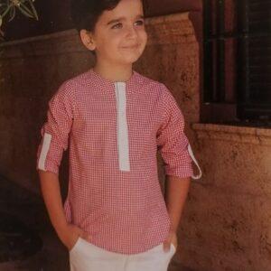 Conjunto-niño-camisa-cuadro-y-bermuda-Atelier-de-Candela