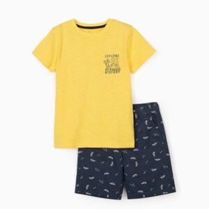 Conjunto-niño-camiseta-y-bermuda-explore-Zippy