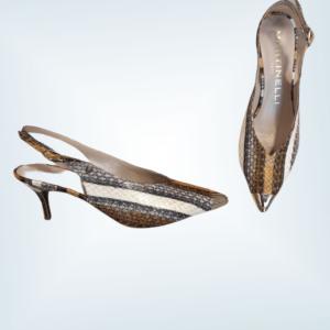 Zapato salón piel serpiente Martinelli