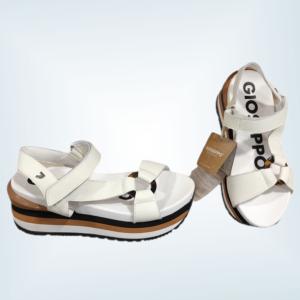 Sandalia blanca para mujer Gioseppo