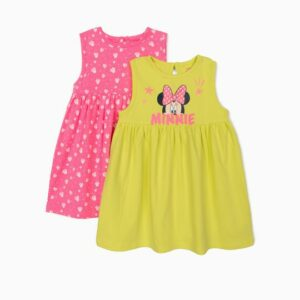 2 Vestidos para bebe Minnie Mouse Zippy